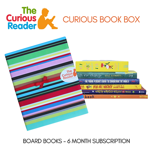 Board Book Curious Book Box (6 Month)