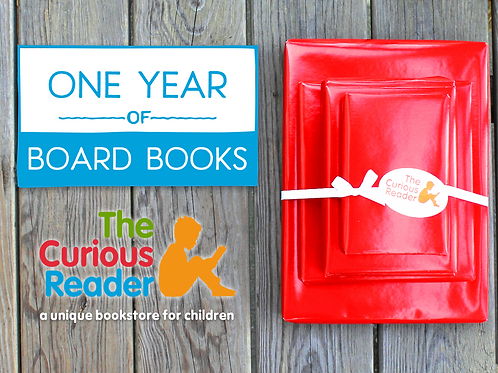 12-Month Board Book Subscription