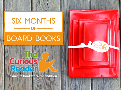 6-Month Board Book Subscription