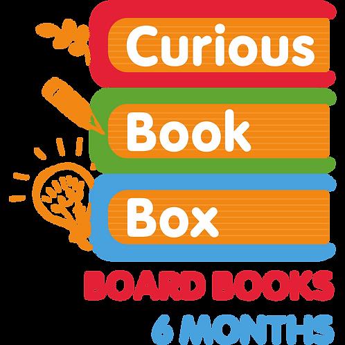 Board Book Curious Book Box (6 Month)