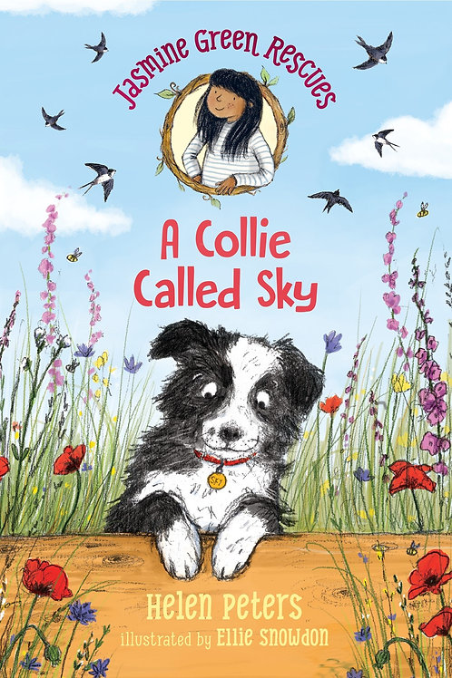 Jasmine Green Rescues: A Collie Called Sky by Helen Peters / Ill. Ellie Snowdon