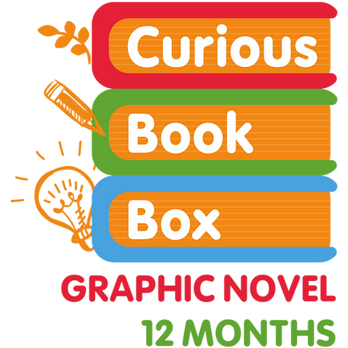 Graphic Novel Curious Book Box (12-Month)