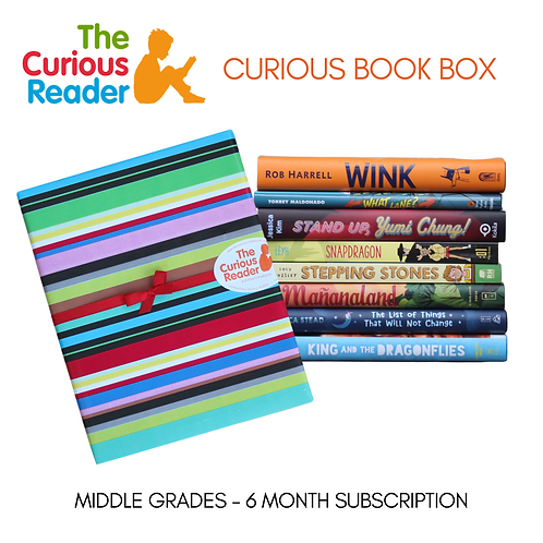 Middle Grade Curious Book Box (6-Month)