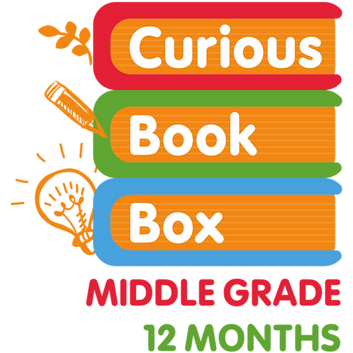 Middle Grade Curious Book Box (12-Month)