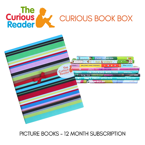 Picture Book Curious Book Box (12 Month)