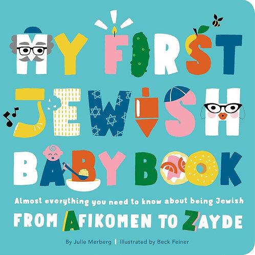 My First Jewish Baby Book by Julie Merberg / Ill. Beck Feiner