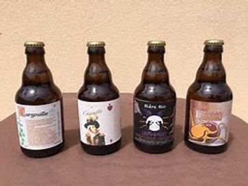 Bière bio artisanale 33cl