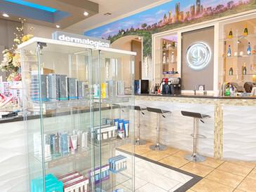 Dermalogica Retail Shelves