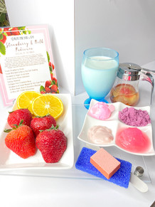 Strawberry & Milk Pedicure Special