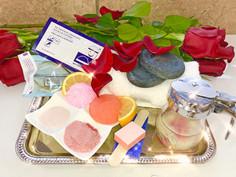 Heavenly Rose Petals Pedicure Special