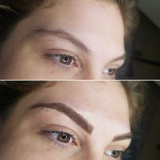 MICROBLADING DONE AT BARE, BLADE & BRUSH BY JACKIE
