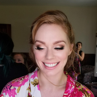 STUNNING BRIDAL MAKEUP FOR REDHEADS
