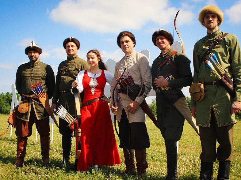 Сборная Федерации конной стрельбы из лука в Башкирии