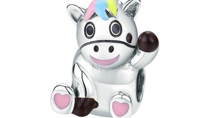 Unicorn Charm - 925 Silver