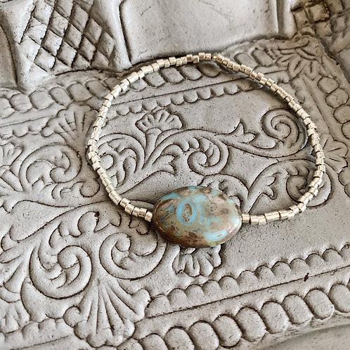 Bracelet Sauge - Argenté