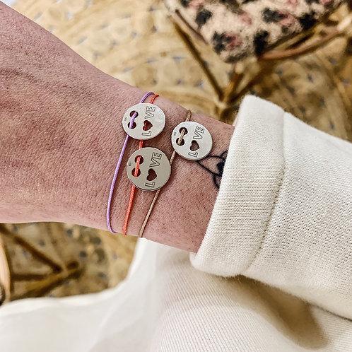 Bracelet Amour - Argenté