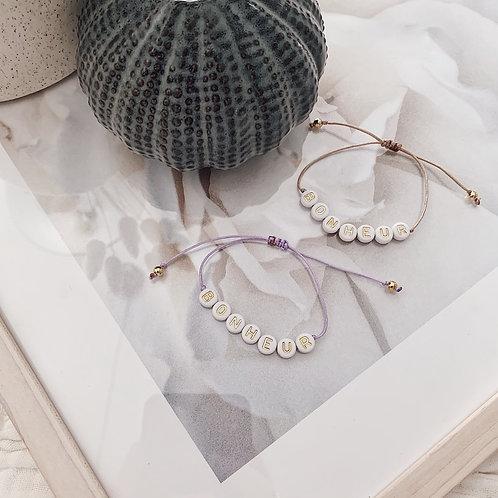 Bracelet Bonheur - Doré