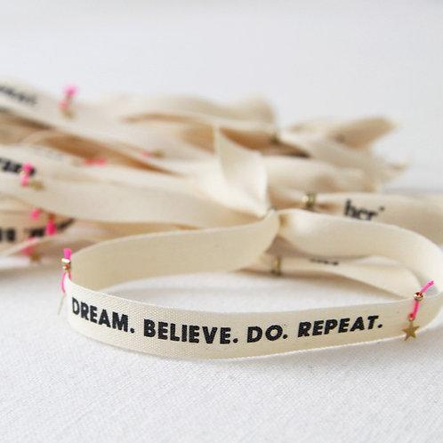 Bracelet ruban HER - Dream bis
