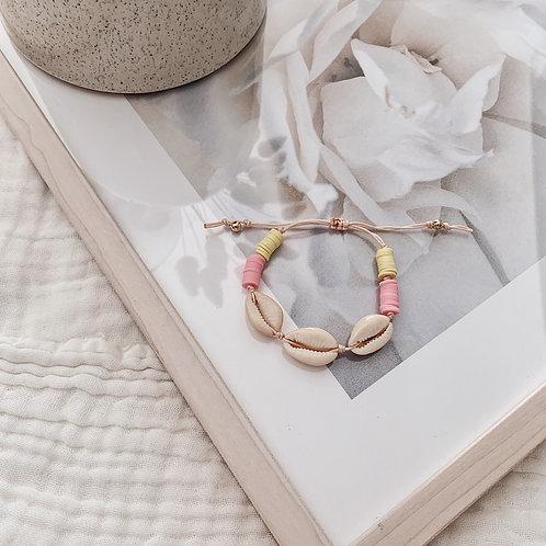 Bracelet Acapulco - Rose/jaune