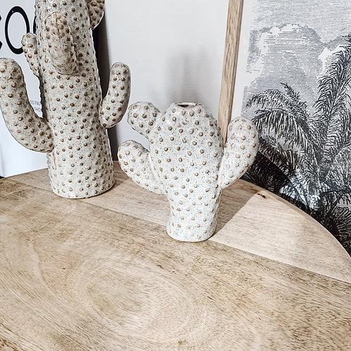 Vase cactus beige - Petit