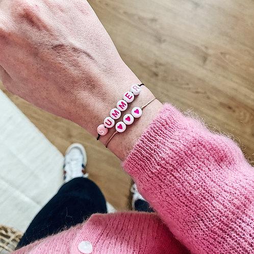 Bracelet Summer n°3 - Rose