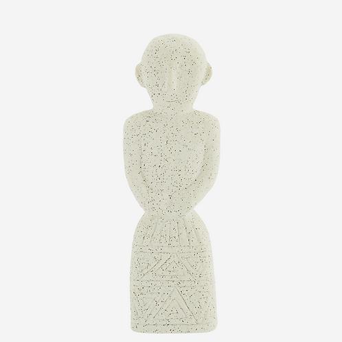 Statue en grès - Beige