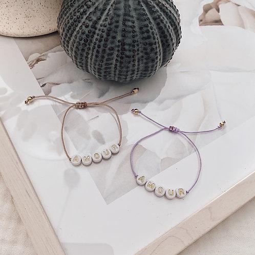 Bracelet Amour - Doré