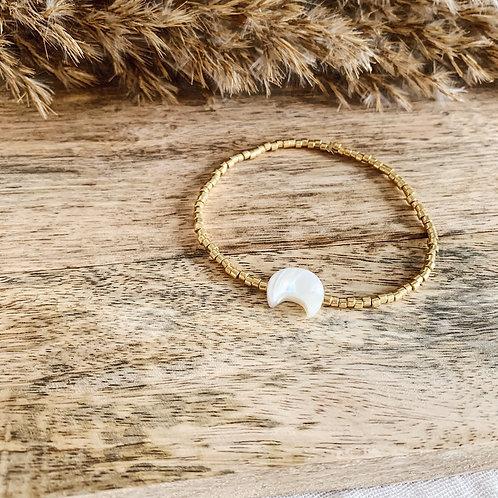 Bracelet Moon - Doré