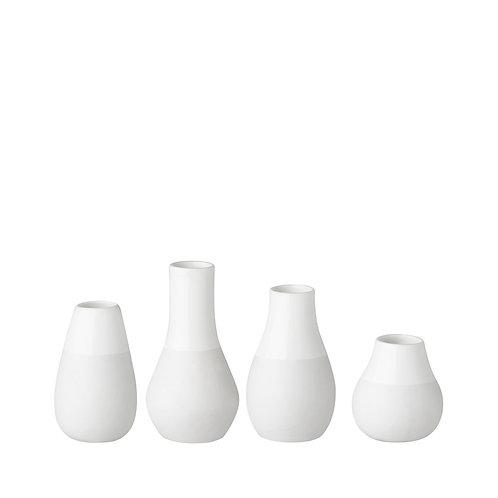 Mini vases blancs