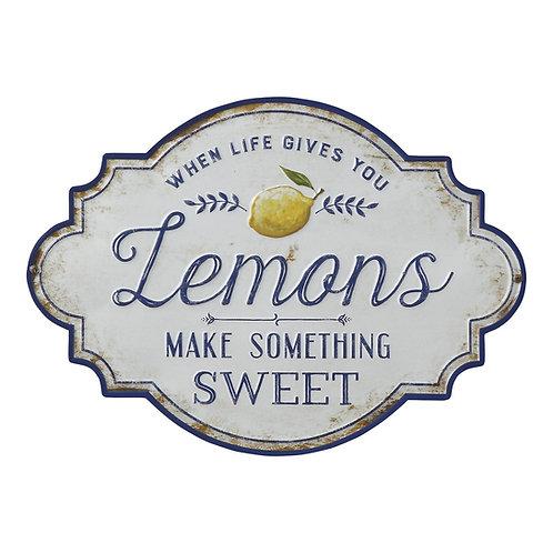 Plaque murale Lemons