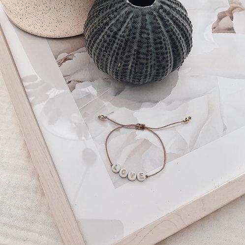 Bracelet Love - Doré