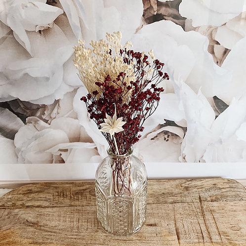 Vase Augustin avec fleurs séchées n°2