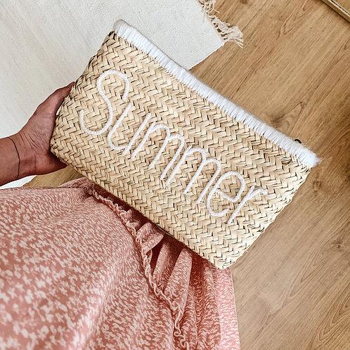 Pochette Summer - Blanc