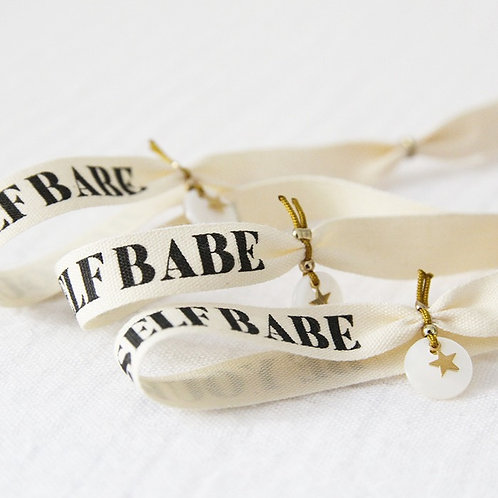 Bracelet ruban HER - Be yourself