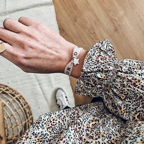 Bracelet Brazil blanc - Nacre/Etoile