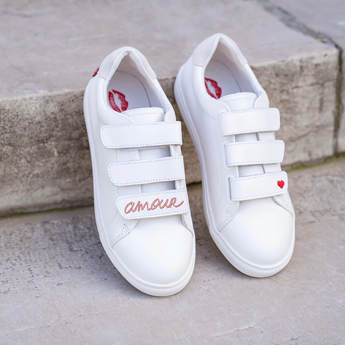 Sneakers Edith - Amour rose gold