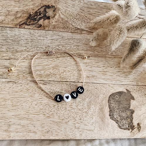 Bracelet Love - Noir