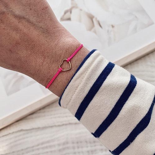 Bracelet Amore - Petit / Rose fluo