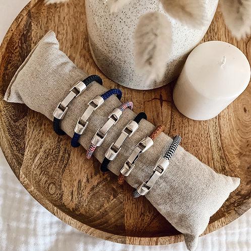 Bracelet Homme - Bleu marine