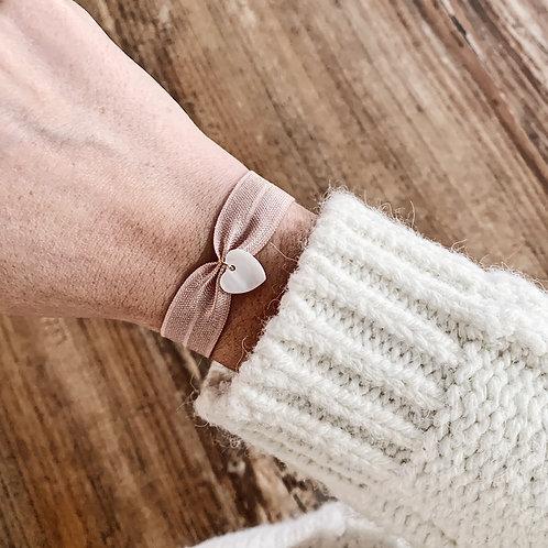 Bracelet Nacre - Coeur