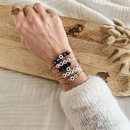 Bracelet à personnaliser - Blanc