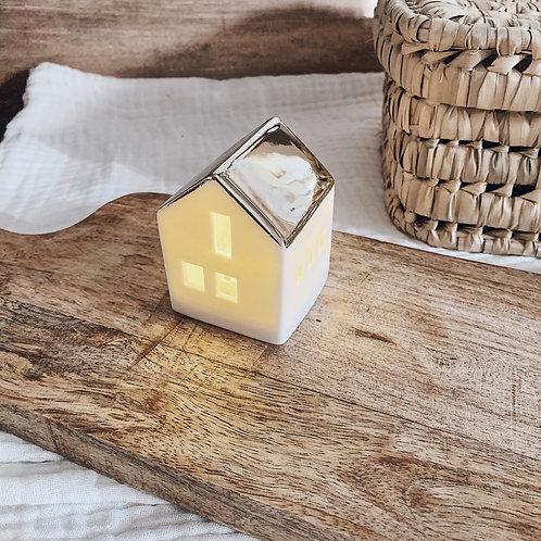 Maison lumineuse à LED