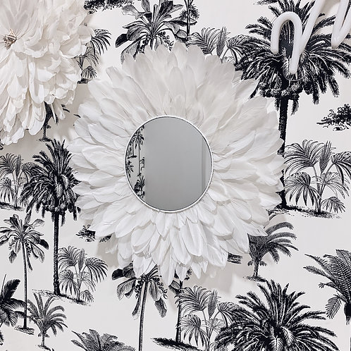 Juju Hat miroir - Blanc