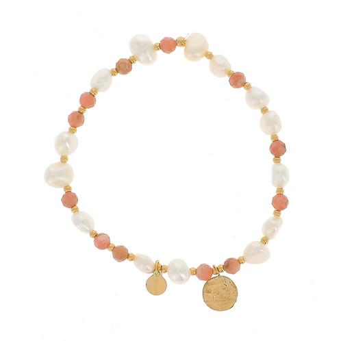 Bracelet Noélie - Rose
