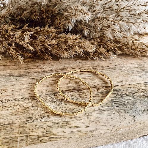 Bracelets Luce - Doré