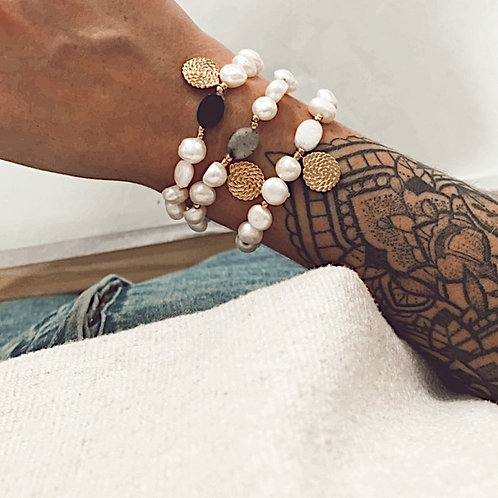 Bracelet Margaux - Blanc
