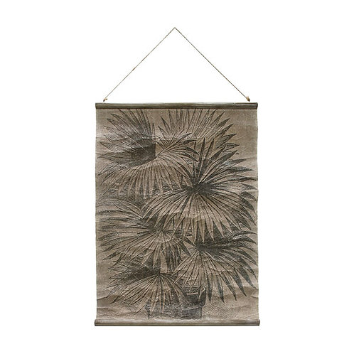Affiche palmiers vintage