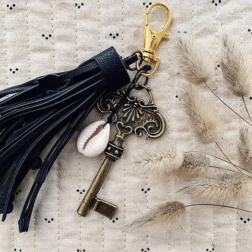 Porte clefs KEY - Noir