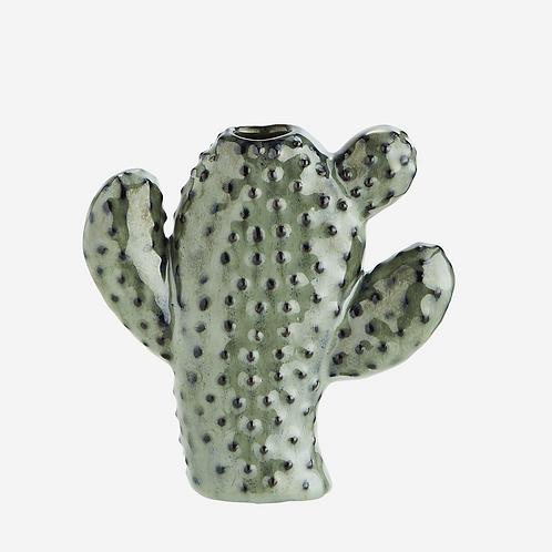 Vase cactus vert - Petit