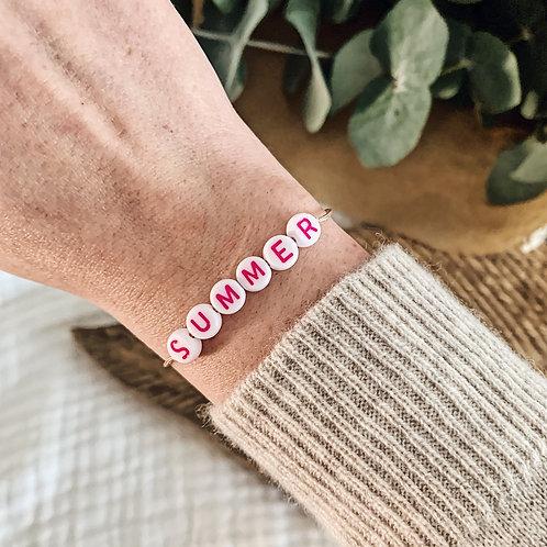 Bracelet Summer n°1 - Rose